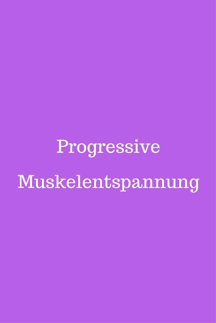 Progressive Muskelentspannu