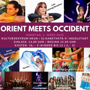 Plakat Orient meets Occident 20
