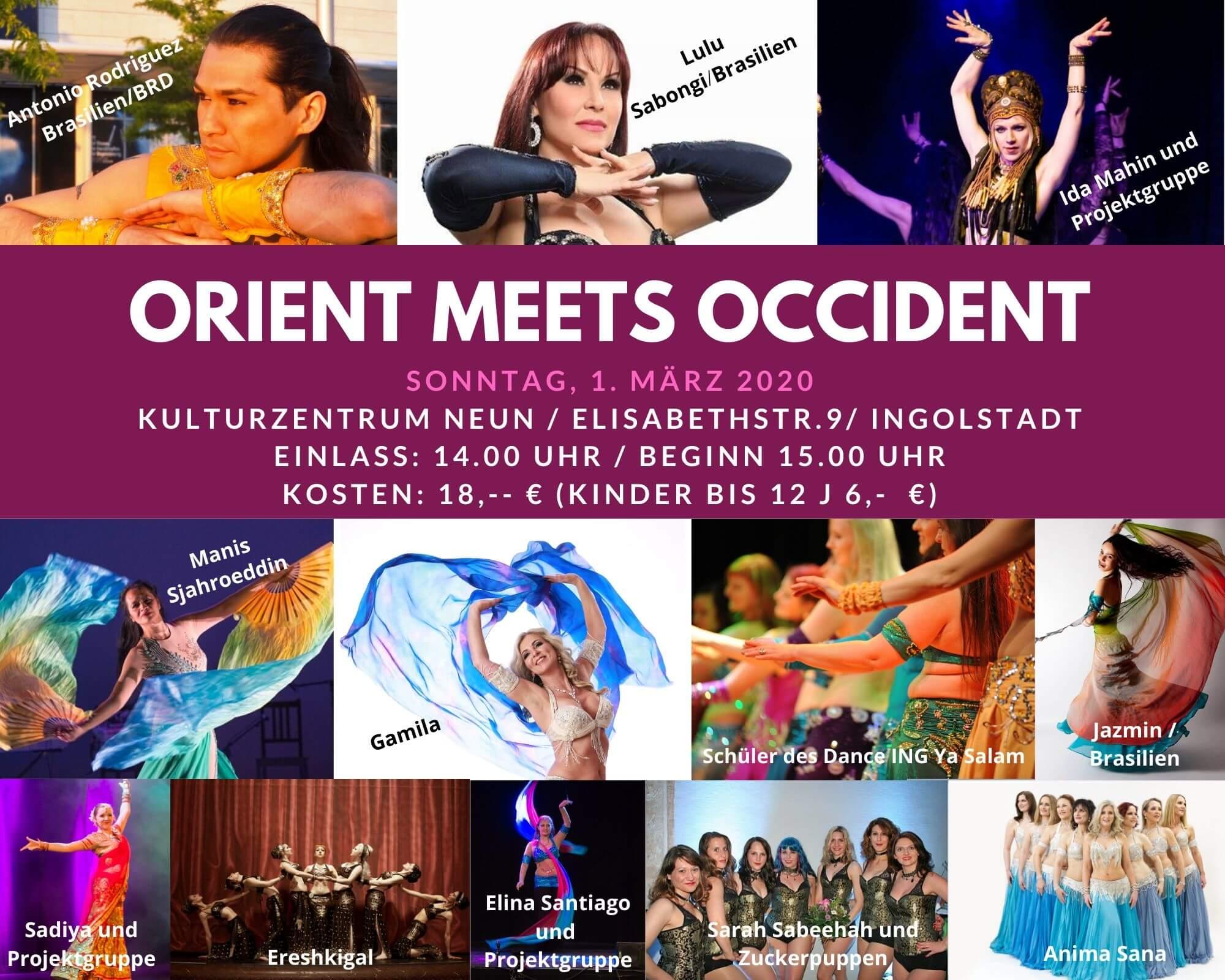 Plakat Orient meets Occident 20